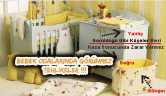 Güvenli Bebek Odası Dekorasyonu